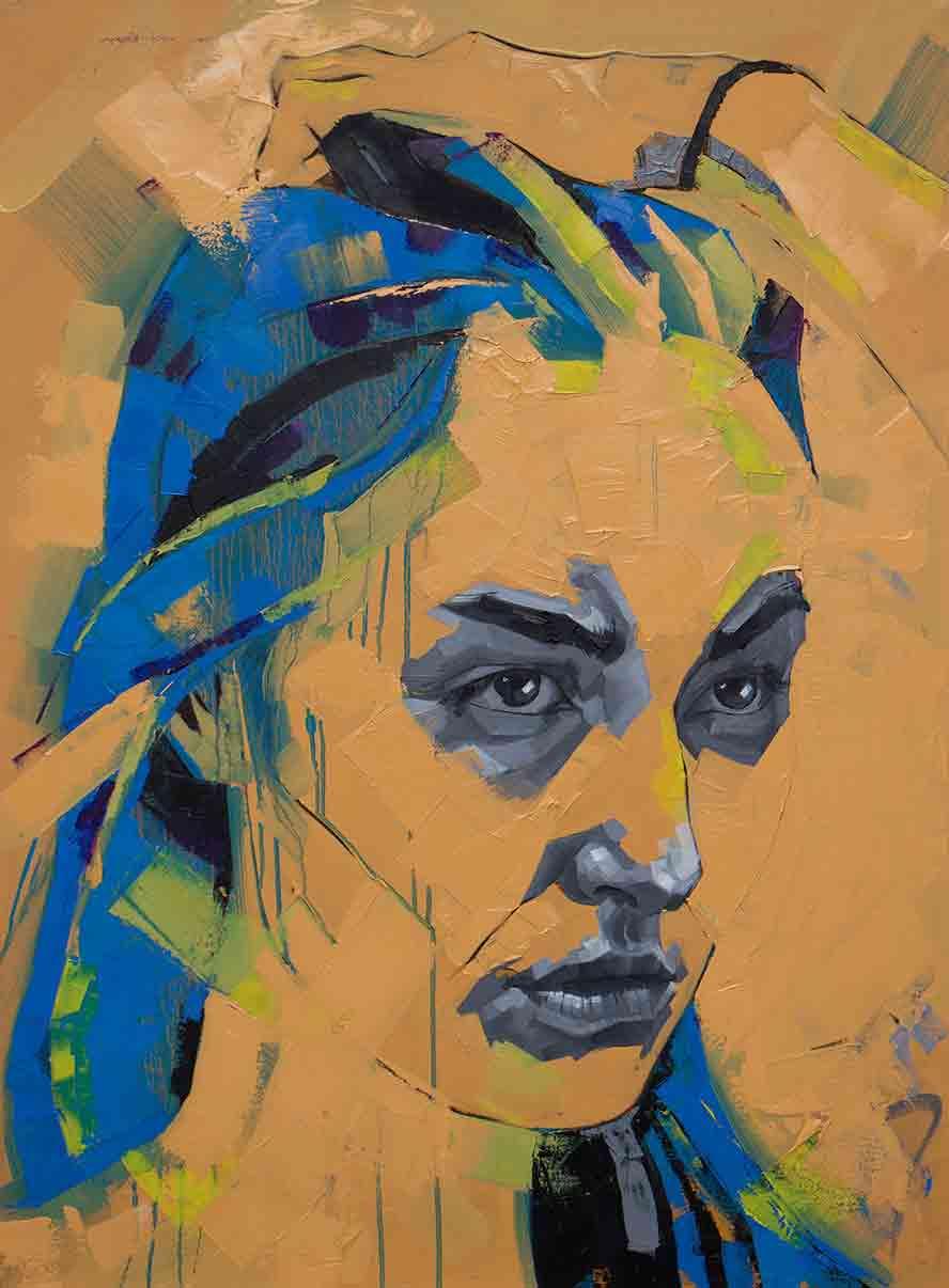 Lucie 120 x 90cm, Oil on Canvas