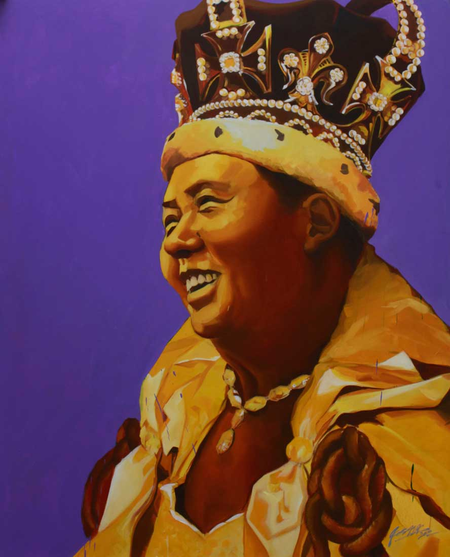 """Queen Mao,  Oil on Canvas 60""""x48"""""""