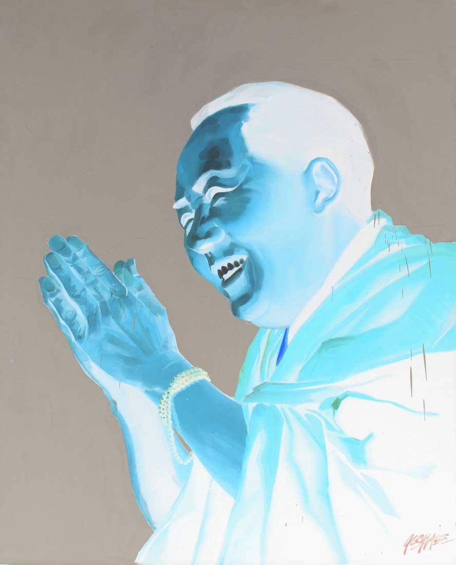 "Dalai Mao,  Oil on Canvas 60""x48"""
